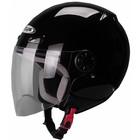Шлем открытый ZS-210B черный глянец, XL