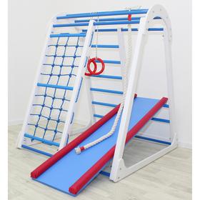 Детский спортивный комплекс Tiny Climber, 1050 × 1100 × 1300 мм, цвет белый