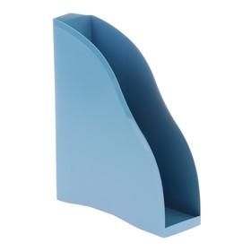 Лоток для бумаг вертикальный, «Космос», Berlin, голубой