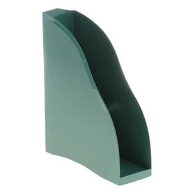 Лоток для бумаг вертикальный «Космос» New York, зелёный