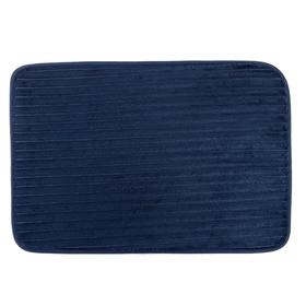 Коврик для ванной 39х58 см 'Вертикаль', цвет синий Ош
