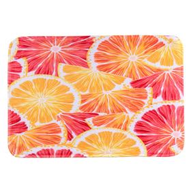 Коврик для ванной 50х79 см 'Апельсин' Ош