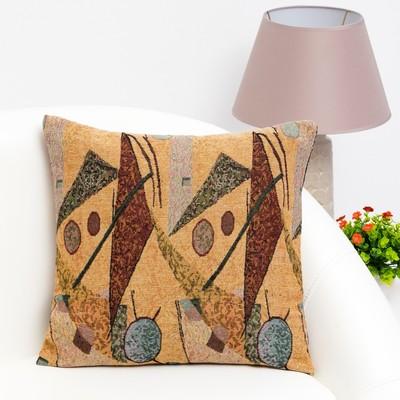 Pillow case decorative Ethel Geometry 40×40 cm, density 280 g/m2, 30% cotton, 70% p/e