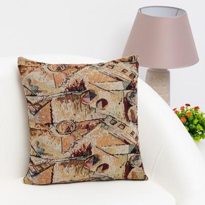 """Pillow case decorative Ethel """"Abstraction"""" of 40×40 cm, density 280 g/m2, 30% cotton, 70% p/e"""