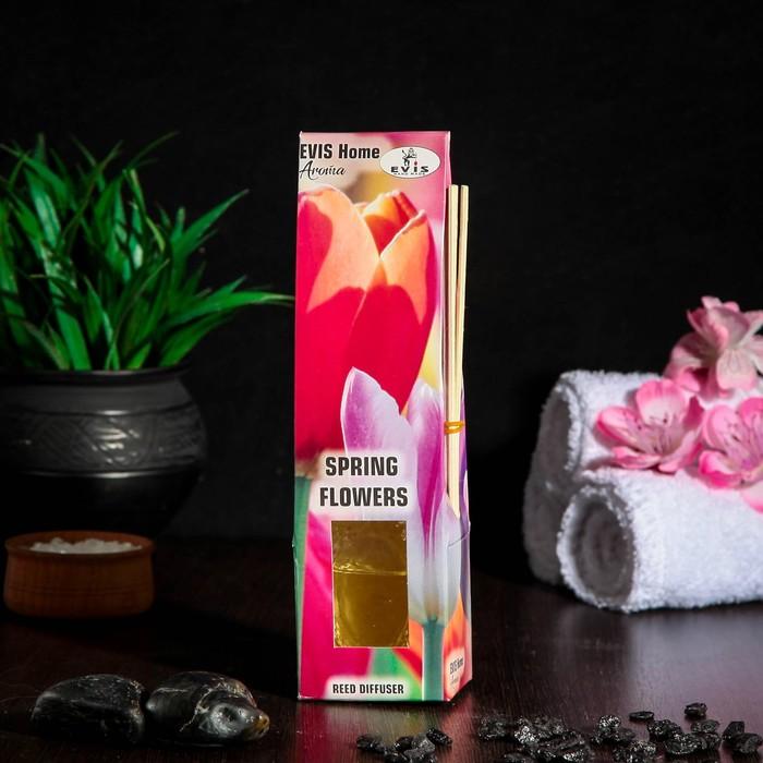 "Диффузор ароматический ""Spring Flowers"" 75 мл, стеклянная крышка"