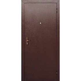 Дверь входная Стройгост 5 РФ металл/металл  2050х860 (левая) Ош