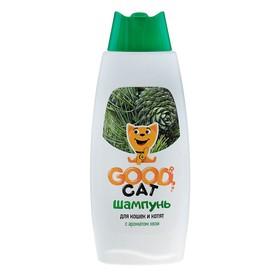 Шампунь Good Cat для кошек и котят с ароматом хвои, 250 мл Ош