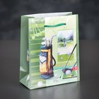 The package laminated Golf, 12 x 15 x 5 cm