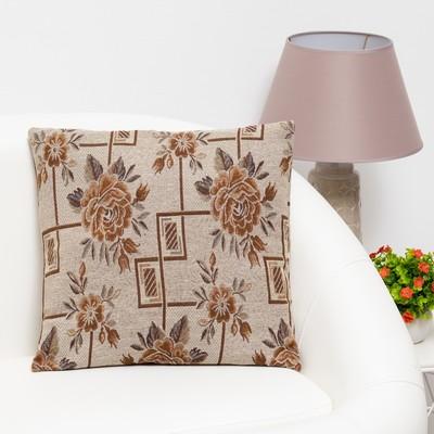 """Pillow case decorative Ethel """"Legend"""" of 40×40 cm, density 280 g/m2, 30% cotton, 70% p/e"""