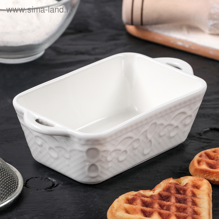 "Baking ""Rectangle. Lanzo"" 16x9,2x5 cm"