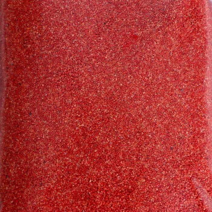 """№1 Цветной песок """"Красный"""" 500 г"""