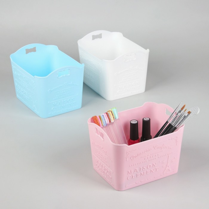 Органайзер для маникюрных/косметических принадлежностей, цвет МИКС