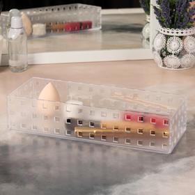 Organizer storage beauty accessories, color transparent