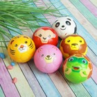 "The ball is soft ""Animals"" 6.3 cm, species MIX"