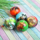 """The ball is soft """"Dinosaurs"""" 6.3 cm, species MIX"""