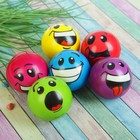 """The ball is soft """"Smileys"""" 6.3 cm, species MIX"""