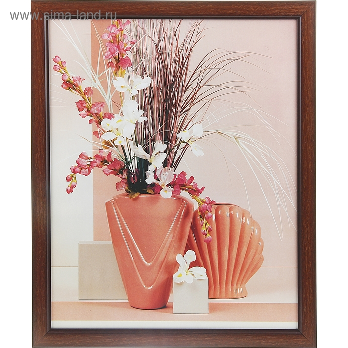 "Картина ""Сухоцветы в вазах"""