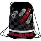 Мешок для обуви на стяжке шнурком Berlingo Racing, с сеточкой, светоотражающая полоса