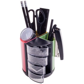 Канцелярский набор 11 предметов, OfficeSpace «Витраж», вращающийся, разноцветный