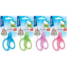 Ножницы детские 13 см, Berlingo, цвет микс