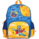 Рюкзак школьный на молнии, 1 отдел, 3 наружных кармана Мульти-Пульти «Енот-пилот»