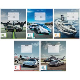 Тетрадь 12л., линия ArtSpace 'Авто. Машины будущего' Ош