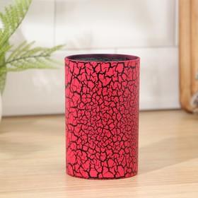 Подставка для ножей «Красный разлом», 14×9 см, с наполнителем