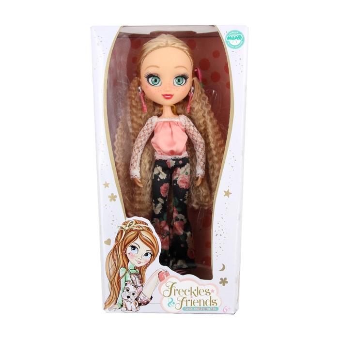 Кукла подружка-веснушка «Квин»