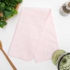 """Полотенце махровое """"Нежность"""" 25х25 см,розовый,250 г/м2, 100% хлопок"""