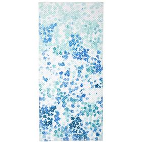Полотенце махровое 'Токио' 34х76 см,голубой,340 г/м2, 100% хлопок Ош