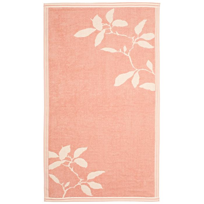 "Полотенце махровое ""Лайт"" 65х135 см,розовый,380 г/м2, 100% хлопок"