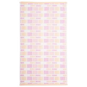 """Полотенце махровое """"Лабиринт"""" 50х90 см,розовый,380 г/м2, 100% хлопок"""