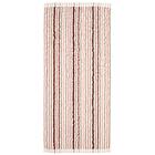 """Полотенце махровое """"Полоски"""" 34х76 см,розовый,380 г/м2, 100% хлопок"""