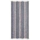 """Полотенце махровое """"Полоски"""" 34х76 см,серый,380 г/м2, 100% хлопок"""