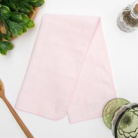 Полотенце махровое 'Нежность' 25х50 см,розовый,250 г/м2, 100% хлопок Ош