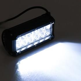 Противотуманная фара 12 LED, IP67, 36 Вт, 6000К, 9-30 В, направленный свет