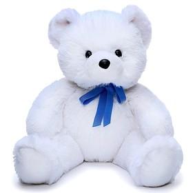 Мягкая игрушка «Медвежонок Стив», цвет белый, 45 см
