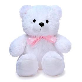 Мягкая игрушка «Медведь Эдди малый», цвет белый, 30 см