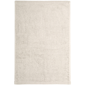 Полотенце махровое 'Глянец' 40х60 см,серый,500 г/м2, 100% хлопок Ош