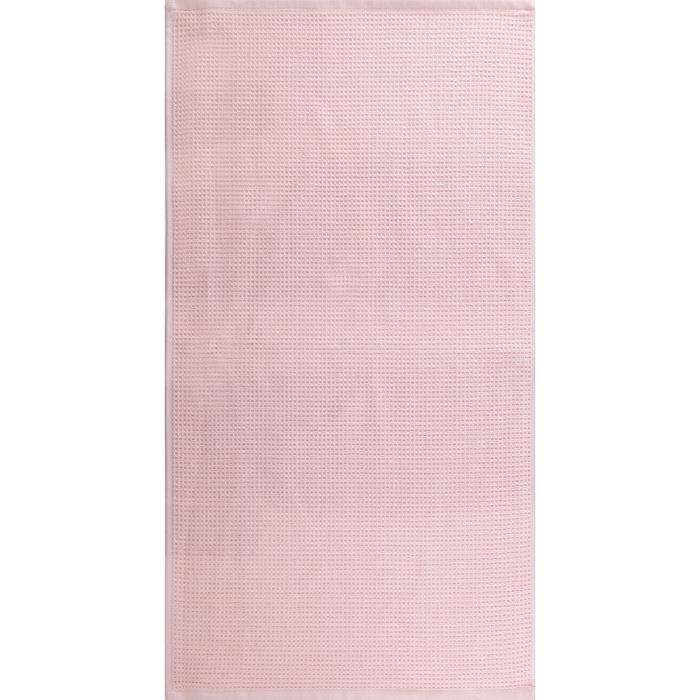 """Полотенце махровое """"Меланж"""" 50х90 см,персик,480 г/м2, 100% хлопок"""