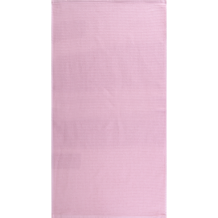 """Полотенце махровое """"Меланж"""" 50х90 см,розовый,480 г/м2, 100% хлопок"""
