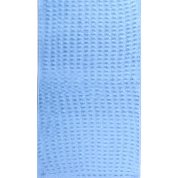 """Полотенце махровое """"Меланж"""" 50х90 см,синий,480 г/м2, 100% хлопок"""