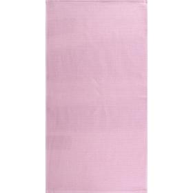 """Полотенце махровое """"Меланж"""" 65х135 см,розовый,480 г/м2, 100% хлопок"""