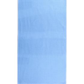 """Полотенце махровое """"Меланж"""" 65х135 см,синий,480 г/м2, 100% хлопок"""