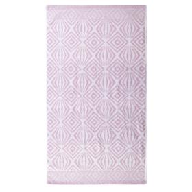 """Полотенце махровое """"Иллюзия"""" 50х90 см,розовый,450 г/м2, 100% хлопок"""