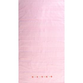 """Полотенце махровое  """"Жемчуг"""" 50х90 см,розовый,420 г/м2, 100% хлопок"""