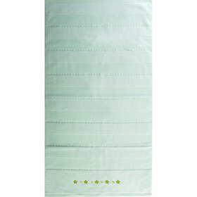 """Полотенце махровое  """"Жемчуг"""" 65х135 см,зеленый,420 г/м2, 100% хлопок"""