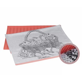 Набор полотенец Summer, размер 50 × 70 см - 2 шт, персиковый