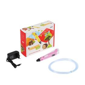 3D ручка SPIDER PEN LITE с ЖК дисплеем, ABS, PLA, Unid Pro, розовая Ош