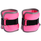 Neoprene weighting 0.25 kg (weight of a pair of 0.5 kg) color pink